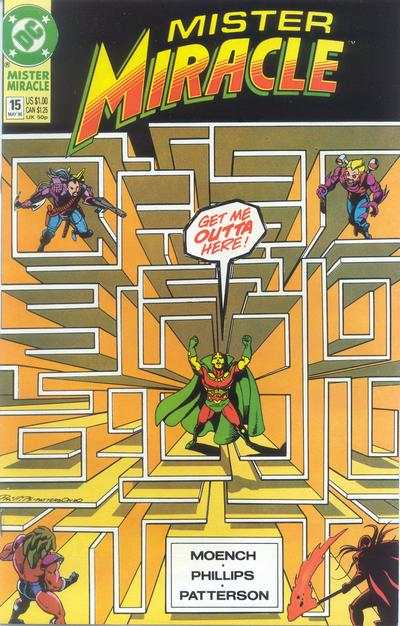 Mister Miracle #15 comic books for sale