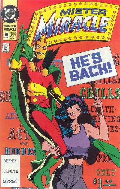 Mister Miracle #19 comic books for sale