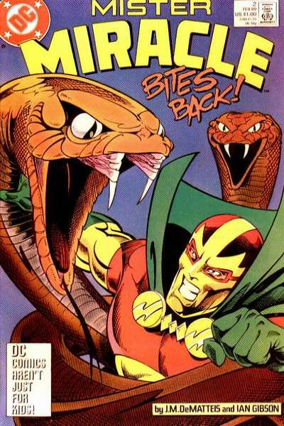 Mister Miracle #2 comic books for sale