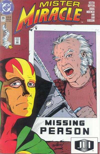 Mister Miracle #20 comic books for sale