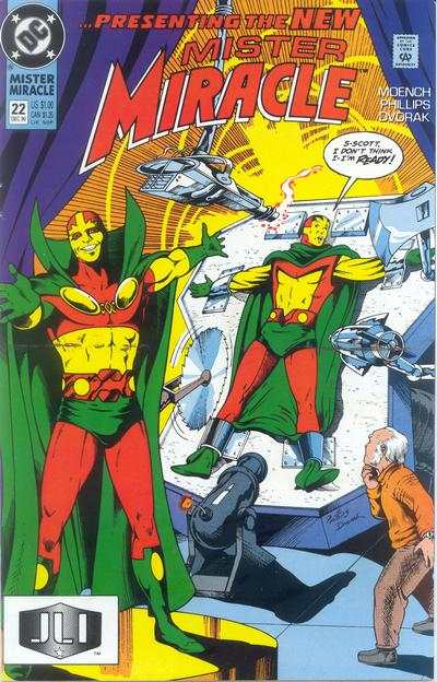 Mister Miracle #22 comic books for sale