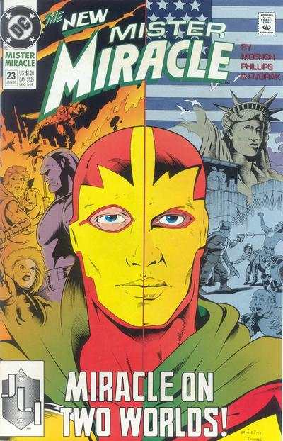Mister Miracle #23 comic books for sale