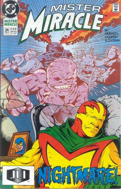 Mister Miracle #24 comic books for sale
