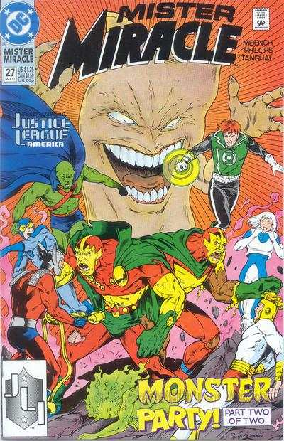 Mister Miracle #27 comic books for sale