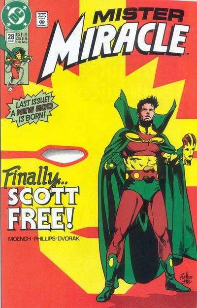 Mister Miracle #28 Comic Books - Covers, Scans, Photos  in Mister Miracle Comic Books - Covers, Scans, Gallery