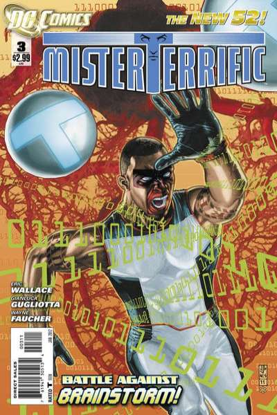 Mister Terrific #3 Comic Books - Covers, Scans, Photos  in Mister Terrific Comic Books - Covers, Scans, Gallery