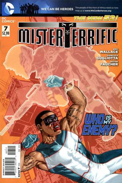 Mister Terrific #7 Comic Books - Covers, Scans, Photos  in Mister Terrific Comic Books - Covers, Scans, Gallery