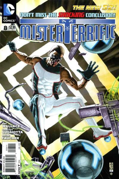 Mister Terrific #8 Comic Books - Covers, Scans, Photos  in Mister Terrific Comic Books - Covers, Scans, Gallery