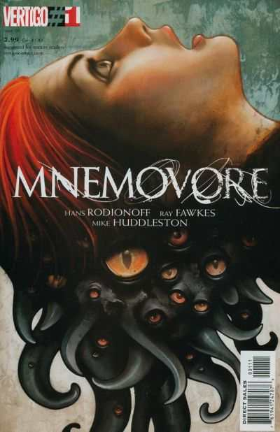Mnemovore #1 comic books - cover scans photos Mnemovore #1 comic books - covers, picture gallery