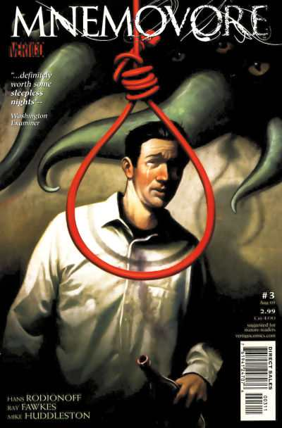 Mnemovore #3 comic books - cover scans photos Mnemovore #3 comic books - covers, picture gallery