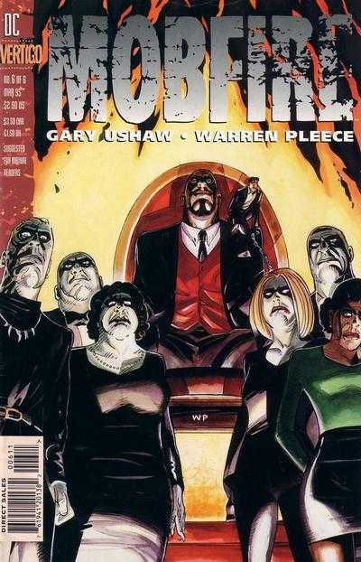 Mobfire #6 comic books - cover scans photos Mobfire #6 comic books - covers, picture gallery