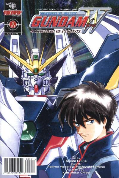 Mobile Suit Gundam Wing Battlefield of Pacifists #1 comic books for sale