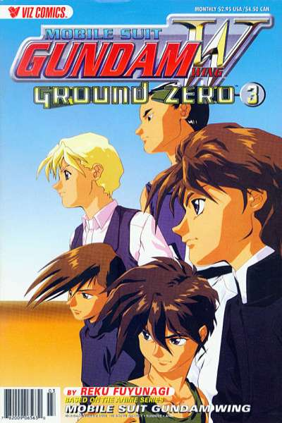 Mobile Suit Gundam Wing Ground Zero #3 comic books for sale