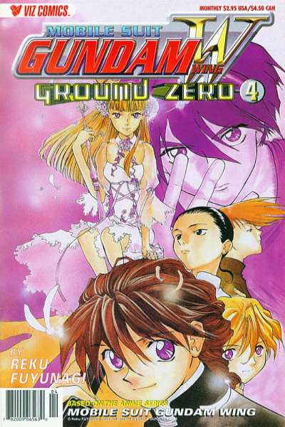 Mobile Suit Gundam Wing Ground Zero #4 comic books for sale