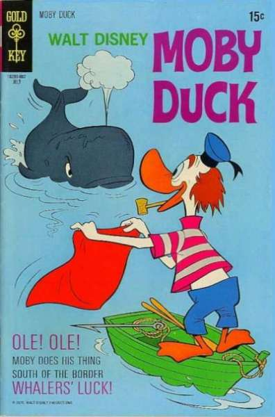 Moby Duck #10 comic books for sale