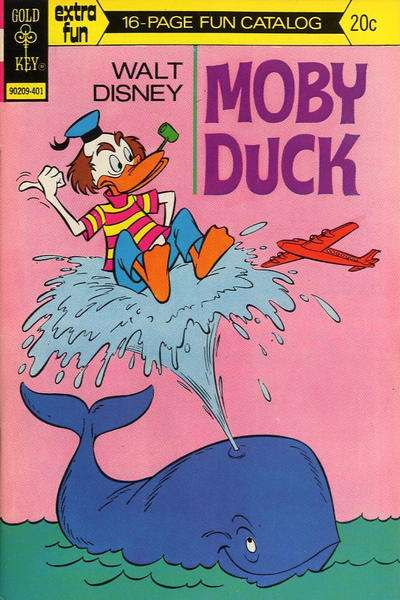 Moby Duck #12 Comic Books - Covers, Scans, Photos  in Moby Duck Comic Books - Covers, Scans, Gallery