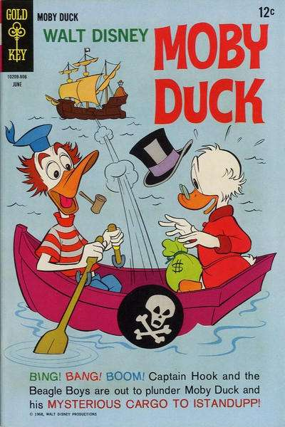 Moby Duck #2 Comic Books - Covers, Scans, Photos  in Moby Duck Comic Books - Covers, Scans, Gallery