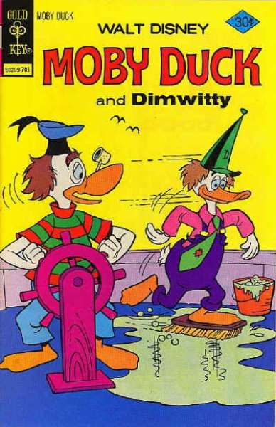 Moby Duck #25 Comic Books - Covers, Scans, Photos  in Moby Duck Comic Books - Covers, Scans, Gallery