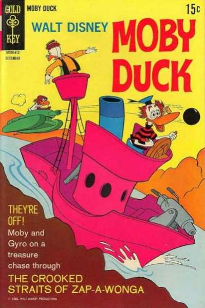 Moby Duck #4 comic books - cover scans photos Moby Duck #4 comic books - covers, picture gallery