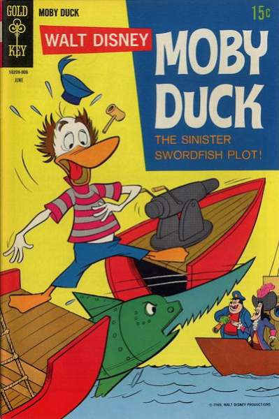 Moby Duck #6 comic books - cover scans photos Moby Duck #6 comic books - covers, picture gallery