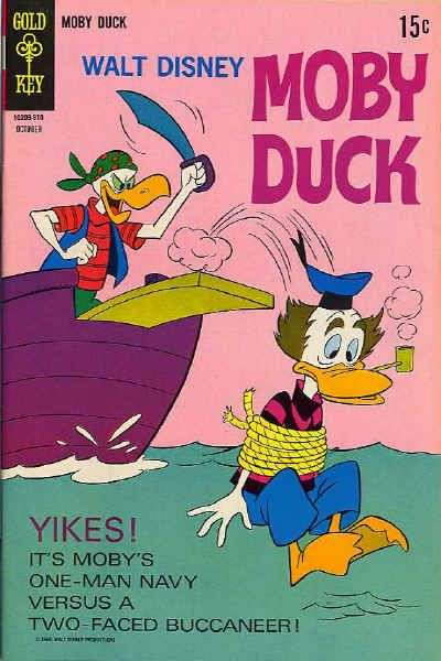 Moby Duck #7 Comic Books - Covers, Scans, Photos  in Moby Duck Comic Books - Covers, Scans, Gallery
