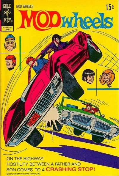 Mod Wheels #6 comic books - cover scans photos Mod Wheels #6 comic books - covers, picture gallery