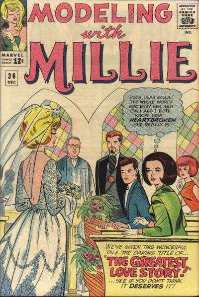 Modeling with Millie #36 Comic Books - Covers, Scans, Photos  in Modeling with Millie Comic Books - Covers, Scans, Gallery