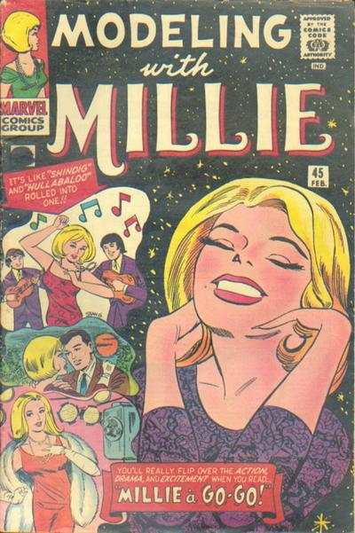 Modeling with Millie #45 Comic Books - Covers, Scans, Photos  in Modeling with Millie Comic Books - Covers, Scans, Gallery