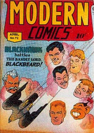 Modern Comics #72 Comic Books - Covers, Scans, Photos  in Modern Comics Comic Books - Covers, Scans, Gallery
