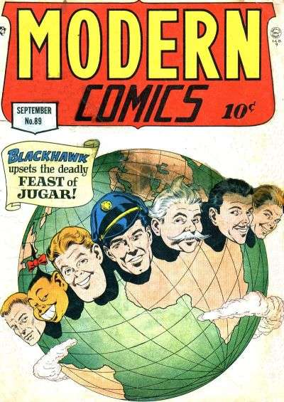 Modern Comics #89 comic books for sale