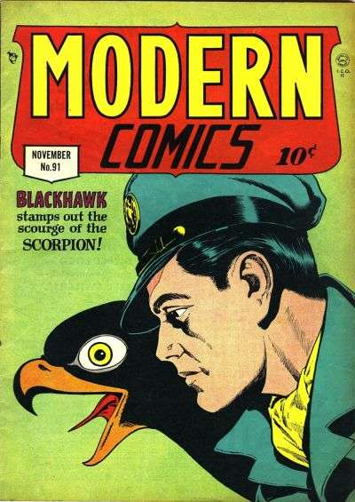 Modern Comics #91 comic books for sale