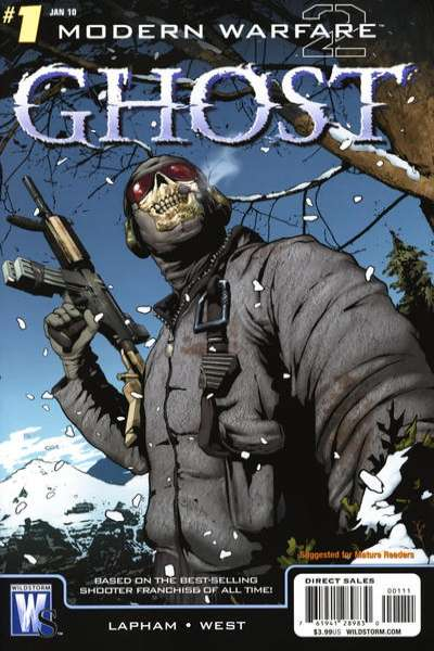 Modern Warfare 2: Ghost comic books