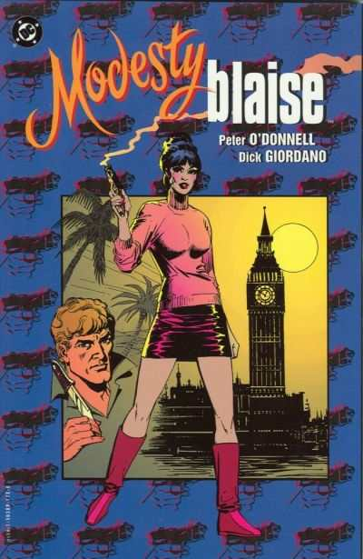 Modesty Blaise comic books