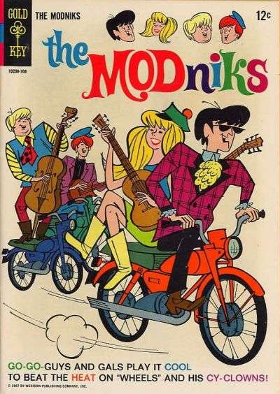 Modniks #1 comic books - cover scans photos Modniks #1 comic books - covers, picture gallery