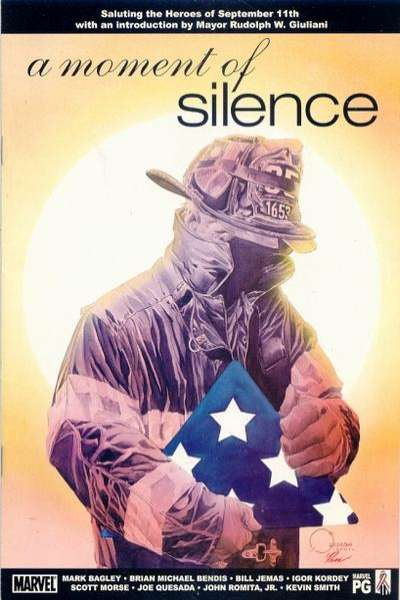 Moment of Silence Comic Books. Moment of Silence Comics.