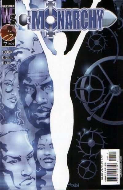 Monarchy #7 comic books - cover scans photos Monarchy #7 comic books - covers, picture gallery