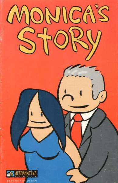 Monica's Story comic books