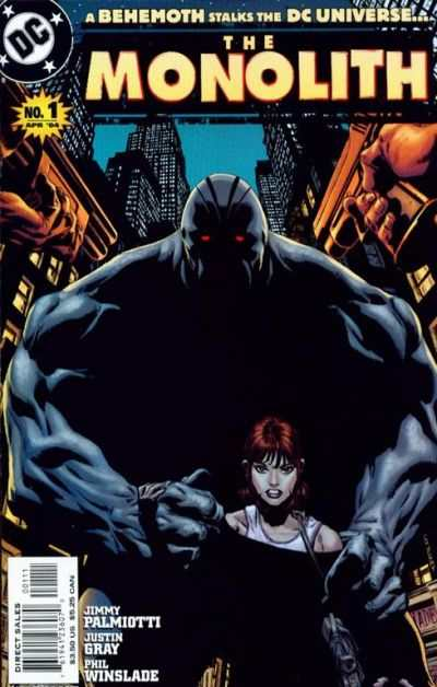 Monolith #1 Comic Books - Covers, Scans, Photos  in Monolith Comic Books - Covers, Scans, Gallery