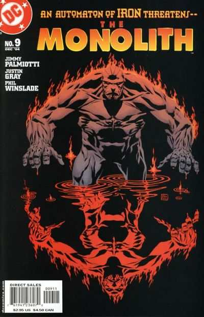 Monolith #9 comic books for sale