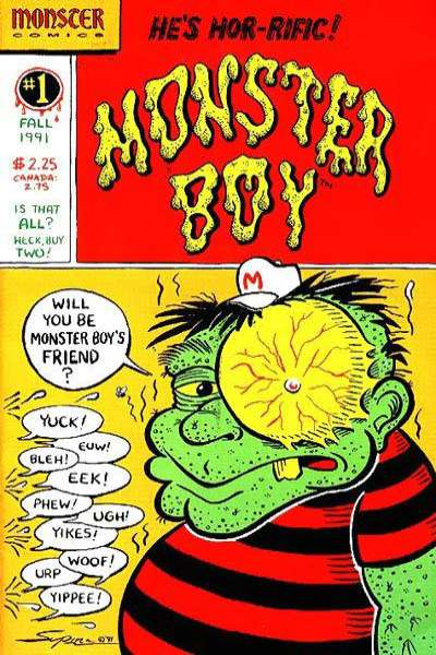 Monster Boy #1 comic books for sale