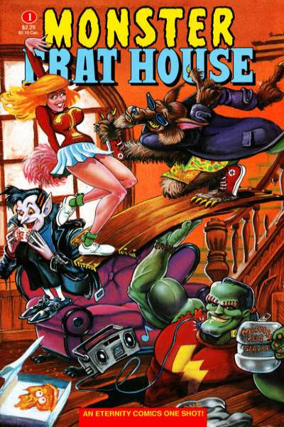 Monster Frat House #1 comic books for sale