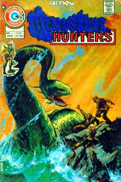 Monster Hunters comic books