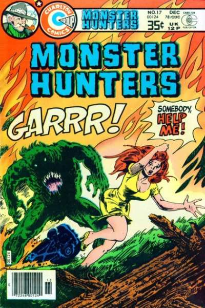 Monster Hunters #17 comic books - cover scans photos Monster Hunters #17 comic books - covers, picture gallery