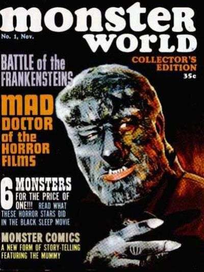 Monster World Comic Books. Monster World Comics.