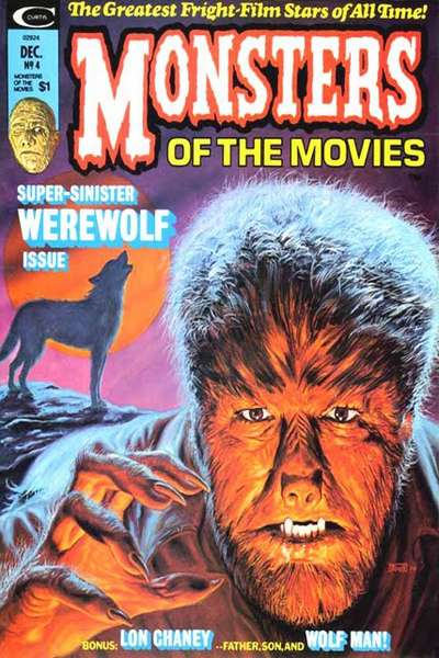 Monsters of the Movies #4 comic books for sale