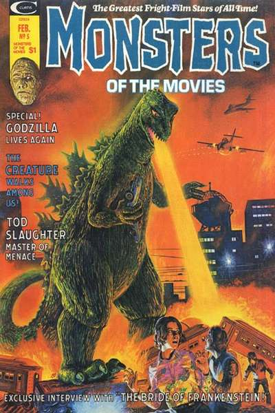 Monsters of the Movies #5 comic books for sale