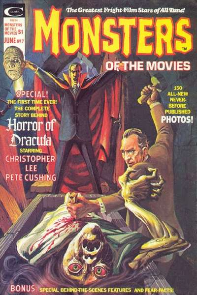 Monsters of the Movies #7 Comic Books - Covers, Scans, Photos  in Monsters of the Movies Comic Books - Covers, Scans, Gallery