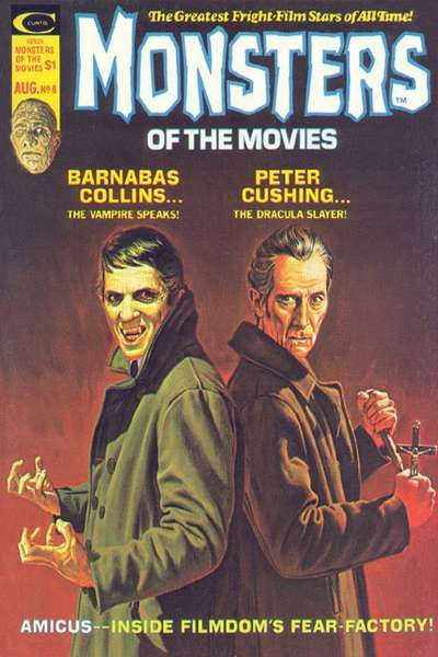 Monsters of the Movies #8 Comic Books - Covers, Scans, Photos  in Monsters of the Movies Comic Books - Covers, Scans, Gallery