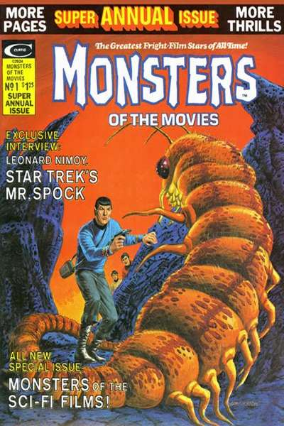 Monsters of the Movies #9 Comic Books - Covers, Scans, Photos  in Monsters of the Movies Comic Books - Covers, Scans, Gallery