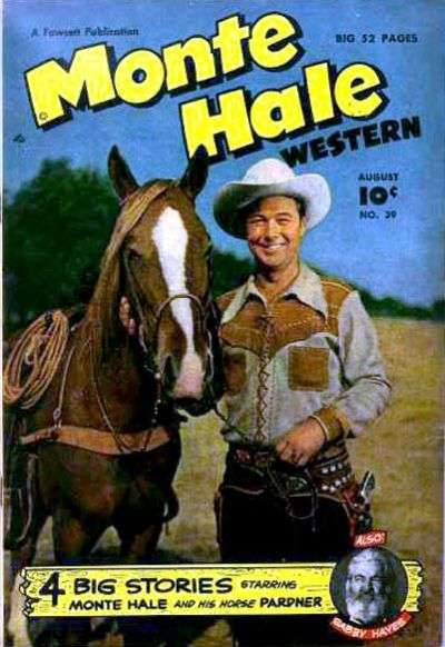 Monte Hale Western #39 comic books for sale